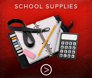 Picture of school supplies. Click to shop for school supplies.